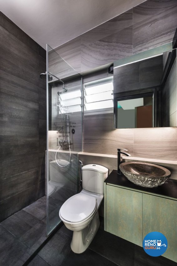 Contemporary, Modern Design - Bathroom - HDB 4 Room - Design by Rezt & Relax Interior