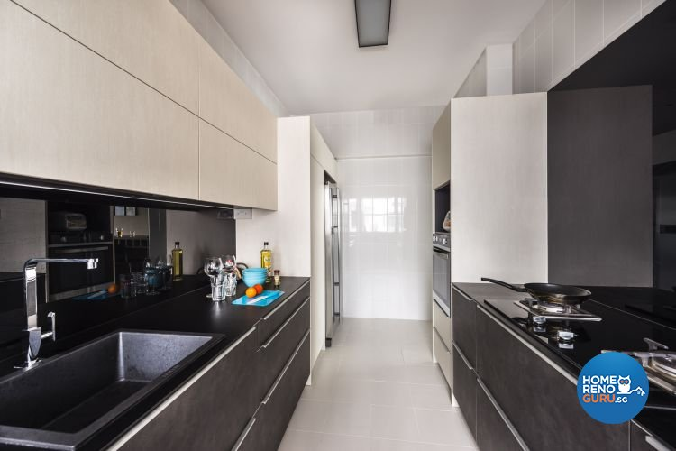 Contemporary, Modern Design - Kitchen - HDB 4 Room - Design by Rezt & Relax Interior