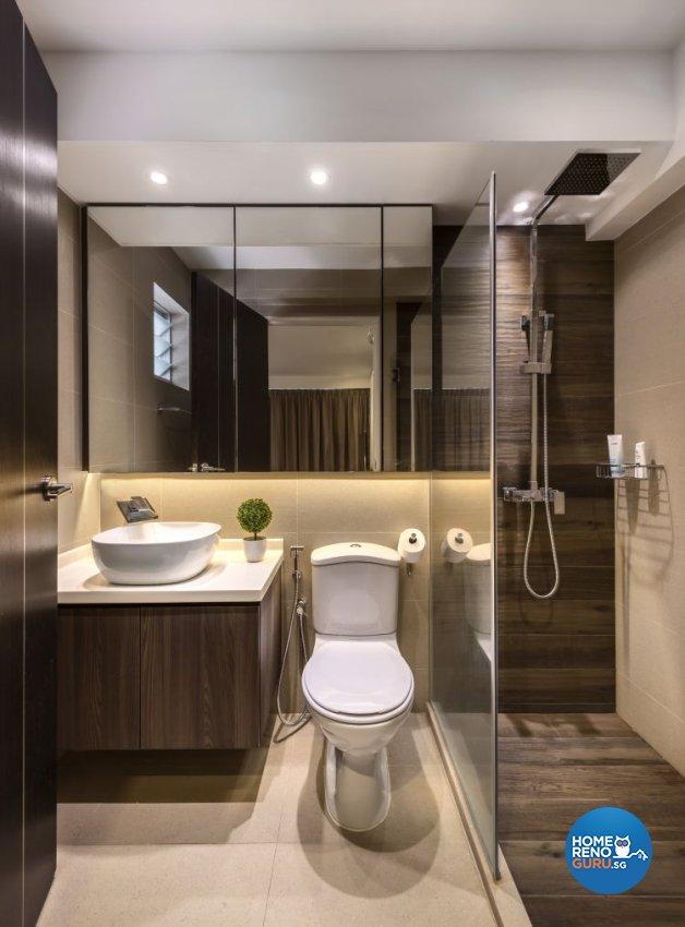 Classical, Contemporary, Minimalist Design - Bathroom - HDB 5 Room - Design by Rezt+Relax Interior Design