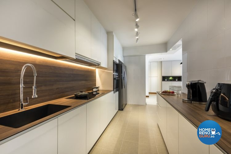 Classical, Contemporary, Minimalist Design - Kitchen - HDB 5 Room - Design by Rezt & Relax Interior