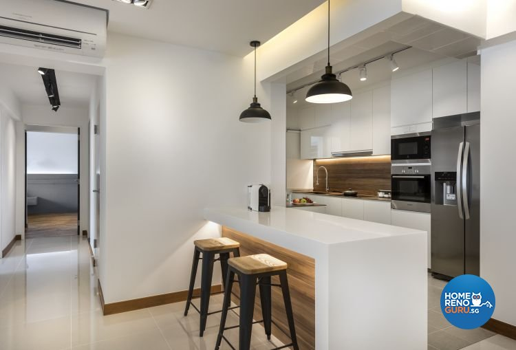 Classical, Contemporary, Minimalist Design - Dining Room - HDB 5 Room - Design by Rezt & Relax Interior