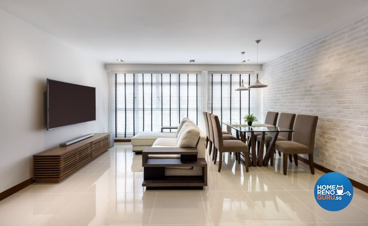 Classical, Contemporary, Minimalist Design - Living Room - HDB 5 Room - Design by Rezt & Relax Interior
