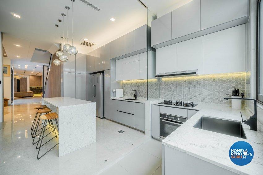 Modern, Tropical Design - Kitchen - Landed House - Design by Rezt+Relax Interior Design