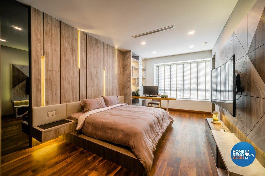 Modern, Tropical Design - Bedroom - Landed House - Design by Rezt+Relax Interior Design
