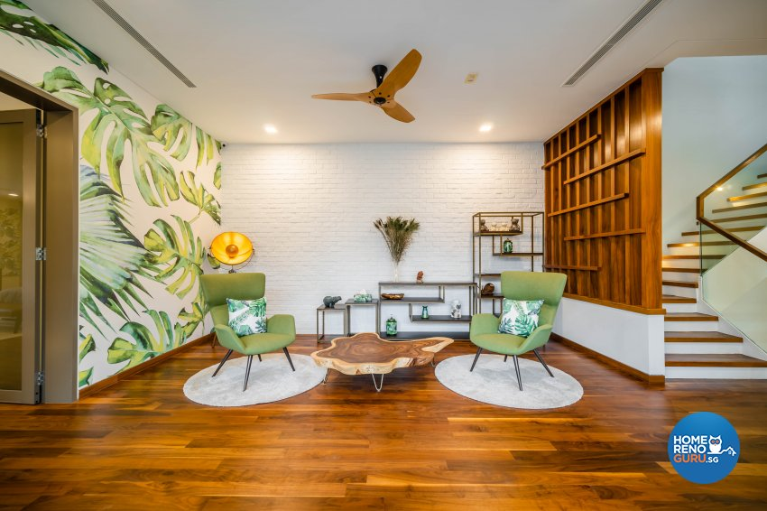 Modern, Tropical Design - Entertainment Room - Landed House - Design by Rezt+Relax Interior Design
