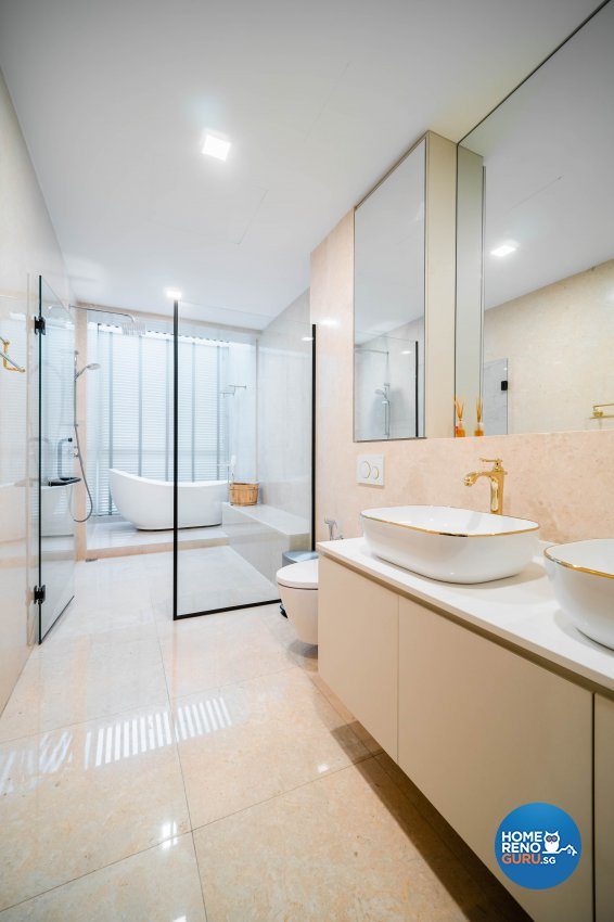 Modern, Tropical Design - Bathroom - Landed House - Design by Rezt+Relax Interior Design
