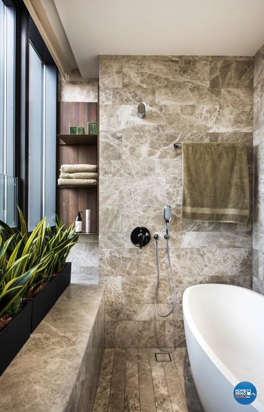 Classical, Modern Design - Bathroom - Condominium - Design by Rezt+Relax Interior Design
