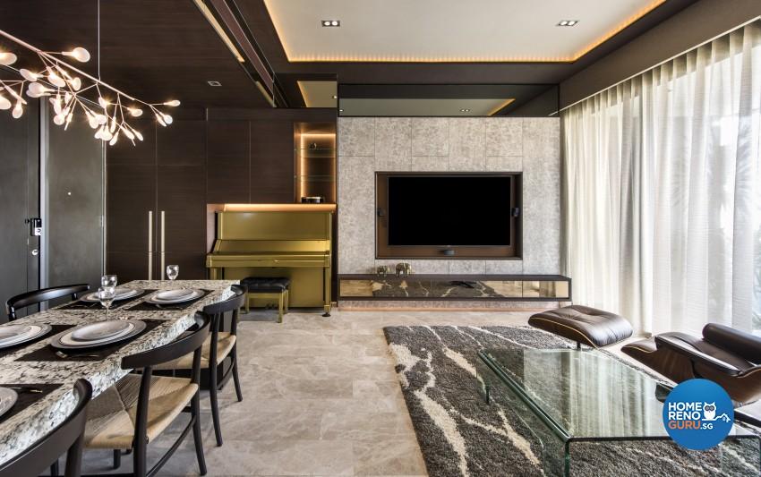 Classical, Modern Design - Living Room - Condominium - Design by Rezt+Relax Interior Design