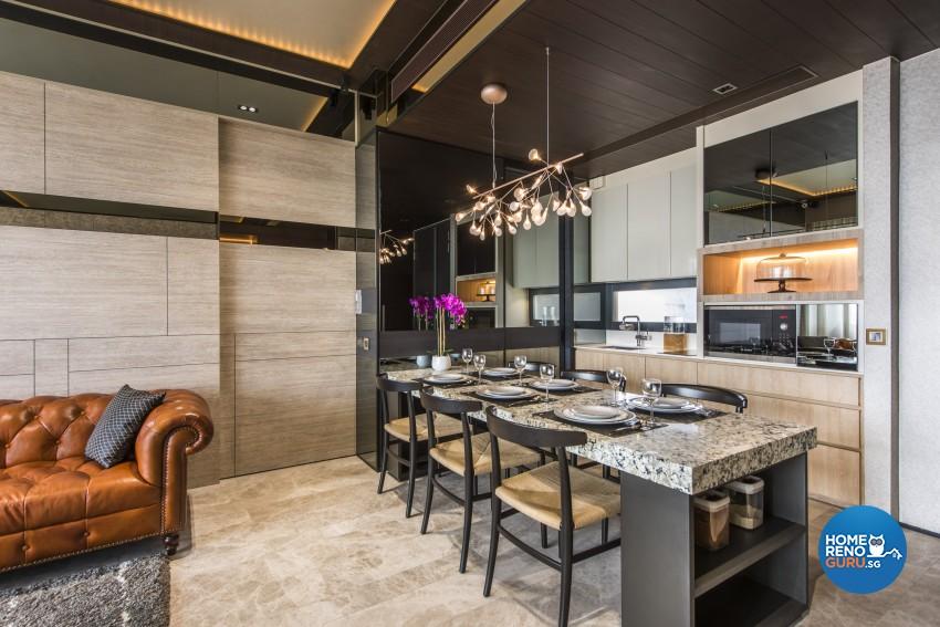 Classical, Modern Design - Dining Room - Condominium - Design by Rezt+Relax Interior Design