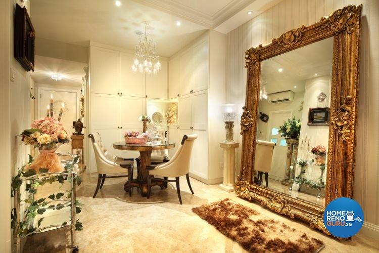 Classical, Vintage Design - Dining Room - Condominium - Design by Rezt+Relax Interior Design