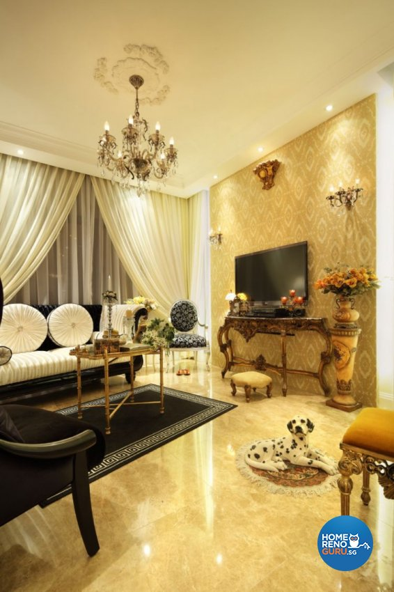 Classical, Vintage Design - Living Room - Condominium - Design by Rezt+Relax Interior Design