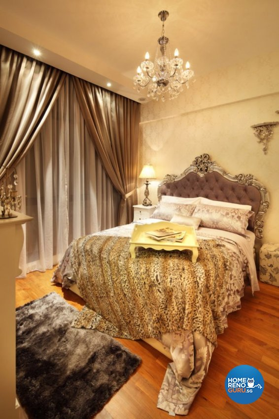 Classical, Vintage Design - Bedroom - Condominium - Design by Rezt & Relax Interior