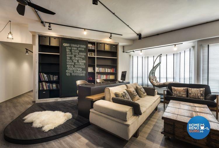 Rezt+Relax Interior Design-HDB 3-Room package