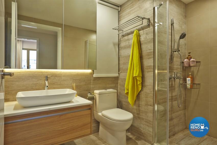 Modern Design - Bathroom - Condominium - Design by Rezt+Relax Interior Design