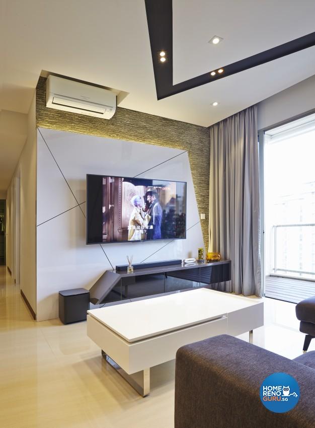 Modern Design - Living Room - Condominium - Design by Rezt+Relax Interior Design