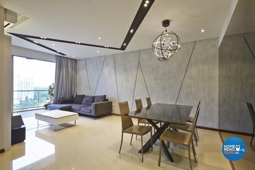 Modern Design - Dining Room - Condominium - Design by Rezt+Relax Interior Design
