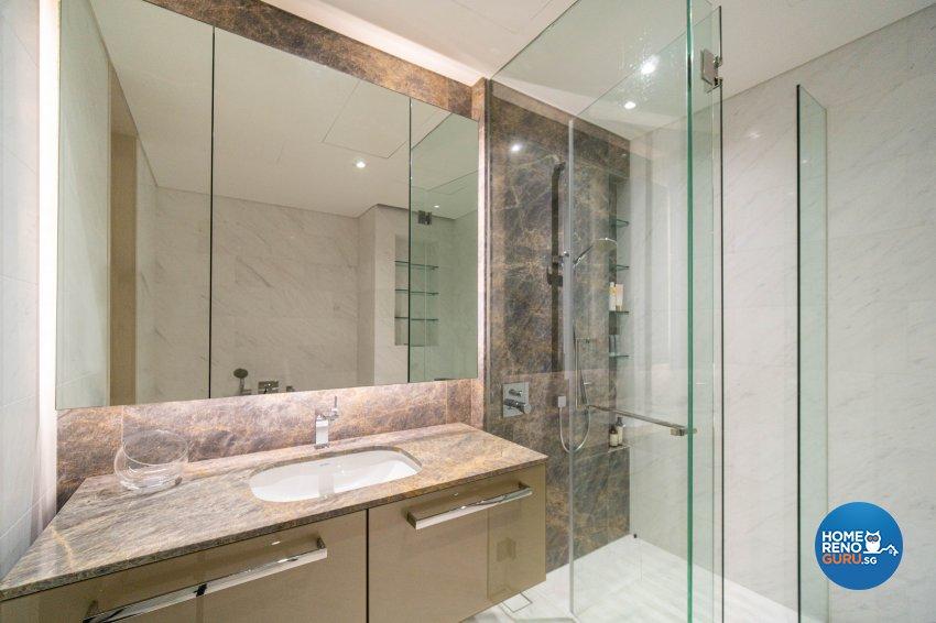Modern, Victorian Design - Bathroom - Condominium - Design by Rezt+Relax Interior Design