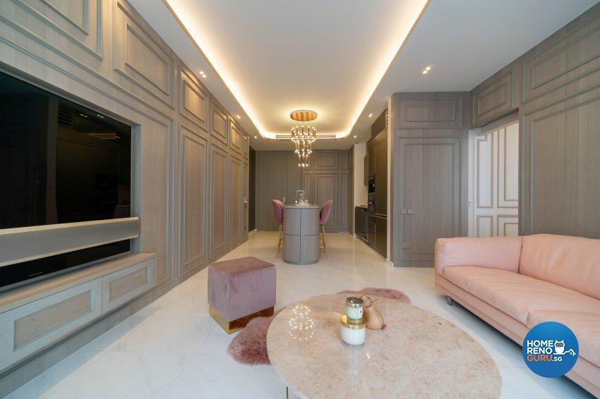 Modern, Victorian Design - Living Room - Condominium - Design by Rezt+Relax Interior Design
