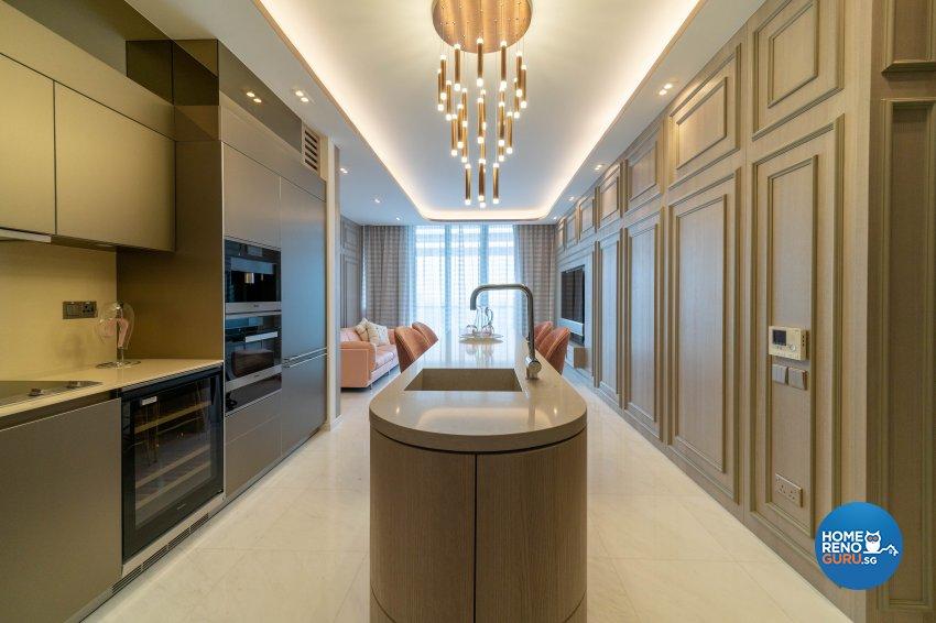 Modern, Victorian Design - Kitchen - Condominium - Design by Rezt+Relax Interior Design