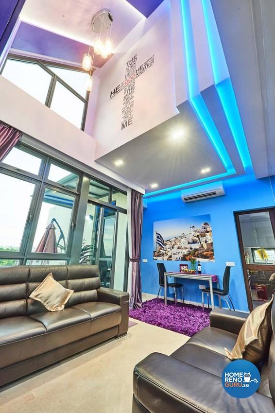 Modern Design - Living Room - Condominium - Design by Rezt & Relax Interior