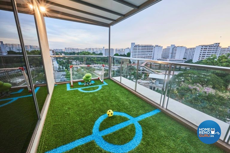 Modern Design - Balcony - Condominium - Design by Rezt & Relax Interior