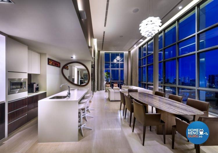 Contemporary, Modern Design - Dining Room - Condominium - Design by Rezt & Relax Interior