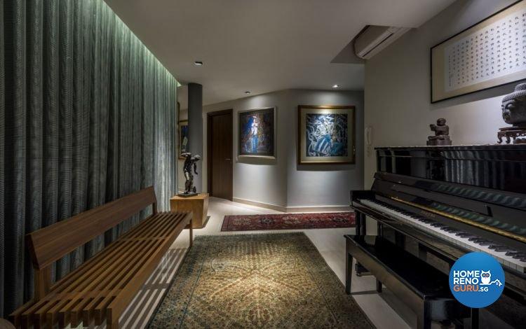 Contemporary, Modern Design - Entertainment Room - Condominium - Design by Rezt & Relax Interior