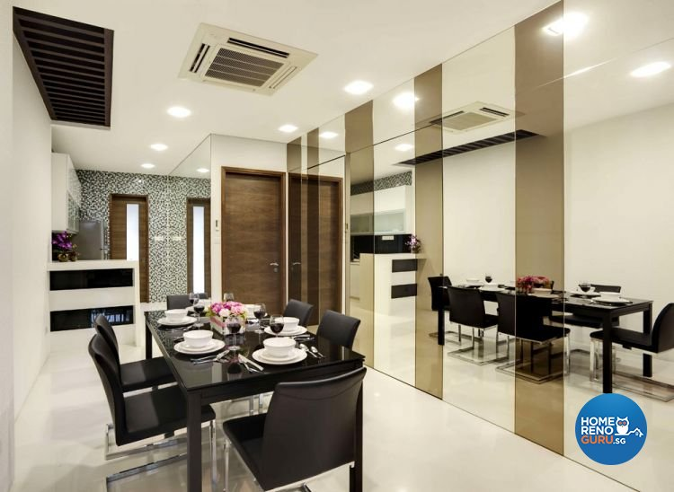 Contemporary, Modern Design - Dining Room - Landed House - Design by Rhiss Interior Pte Ltd