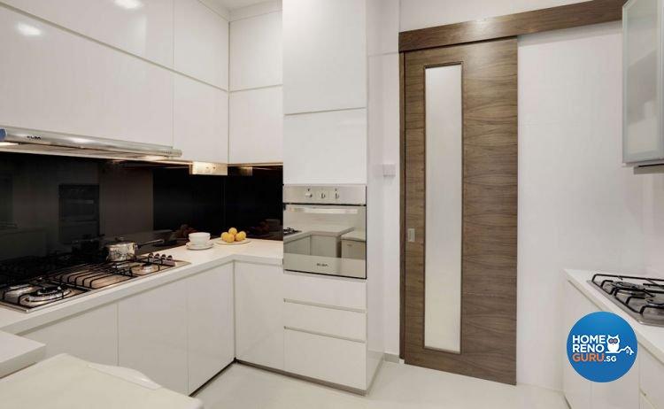 Contemporary, Modern Design - Kitchen - Landed House - Design by Rhiss Interior Pte Ltd