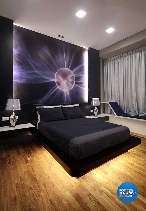 Contemporary, Modern Design - Bedroom - Landed House - Design by Rhiss Interior Pte Ltd