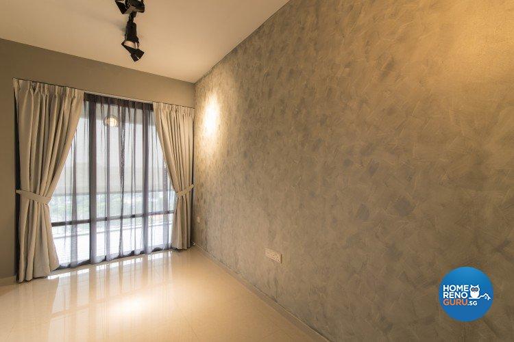 Contemporary, Country Design - Bedroom - Condominium - Design by S. Illusion Design & Build Pte Ltd