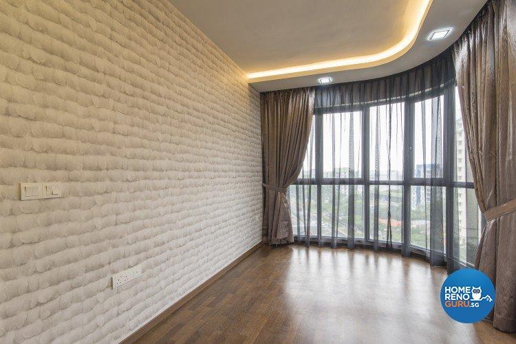 Contemporary, Country Design - Entertainment Room - Condominium - Design by S. Illusion Design & Build Pte Ltd