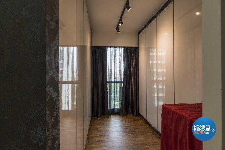 Contemporary, Victorian Design - Bedroom - HDB 4 Room - Design by S. Illusion Design & Build Pte Ltd