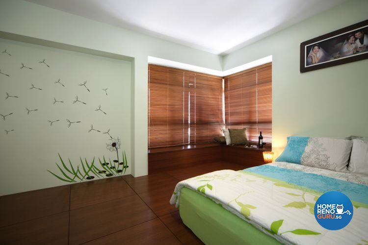 Contemporary, Resort Design - Bedroom - HDB 5 Room - Design by Samlo Design Group Pte Ltd