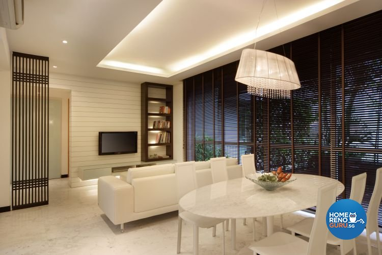 Contemporary, Country, Modern Design - Living Room - Landed House - Design by Samlo Design Group Pte Ltd