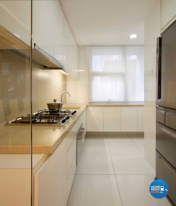 Contemporary, Country, Modern Design - Kitchen - Landed House - Design by Samlo Design Group Pte Ltd