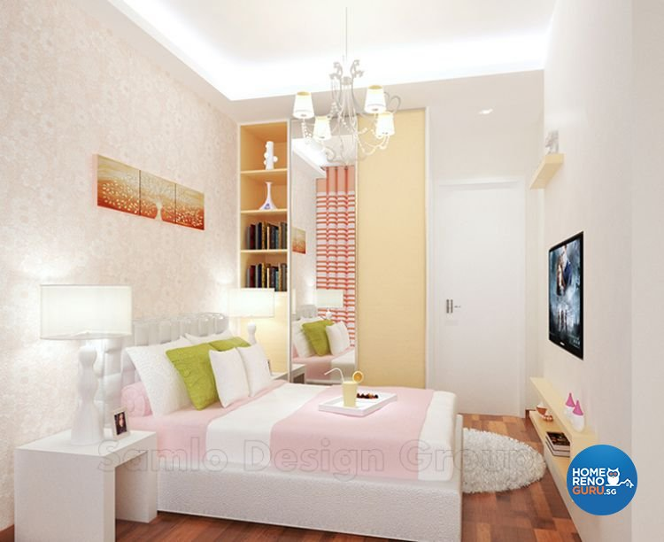 Classical, Contemporary Design - Bedroom - Condominium - Design by Samlo Design Group Pte Ltd
