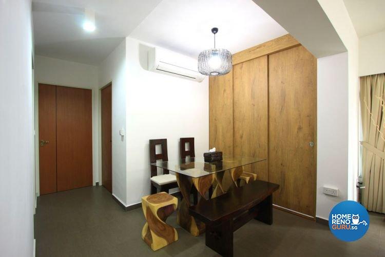 Contemporary, Minimalist, Scandinavian Design - Dining Room - HDB 4 Room - Design by San Trading & Renovation Contractor