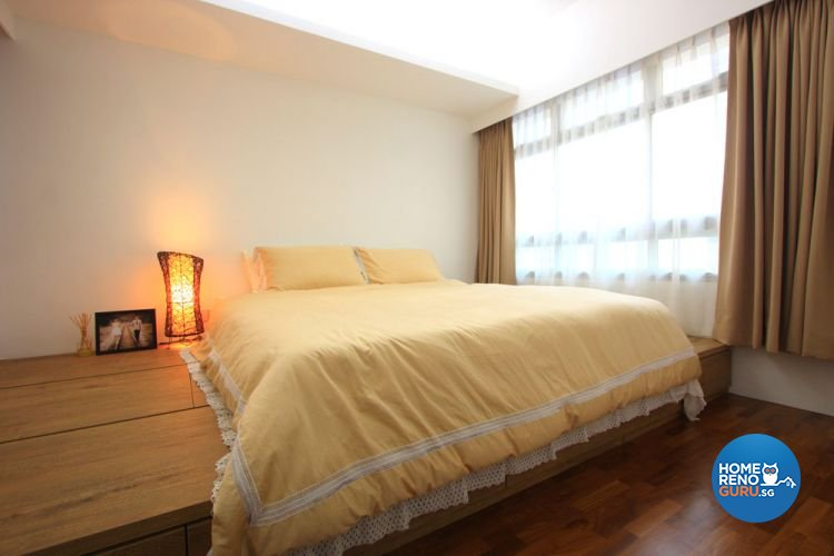 Contemporary, Minimalist, Scandinavian Design - Bedroom - HDB 4 Room - Design by San Trading & Renovation Contractor
