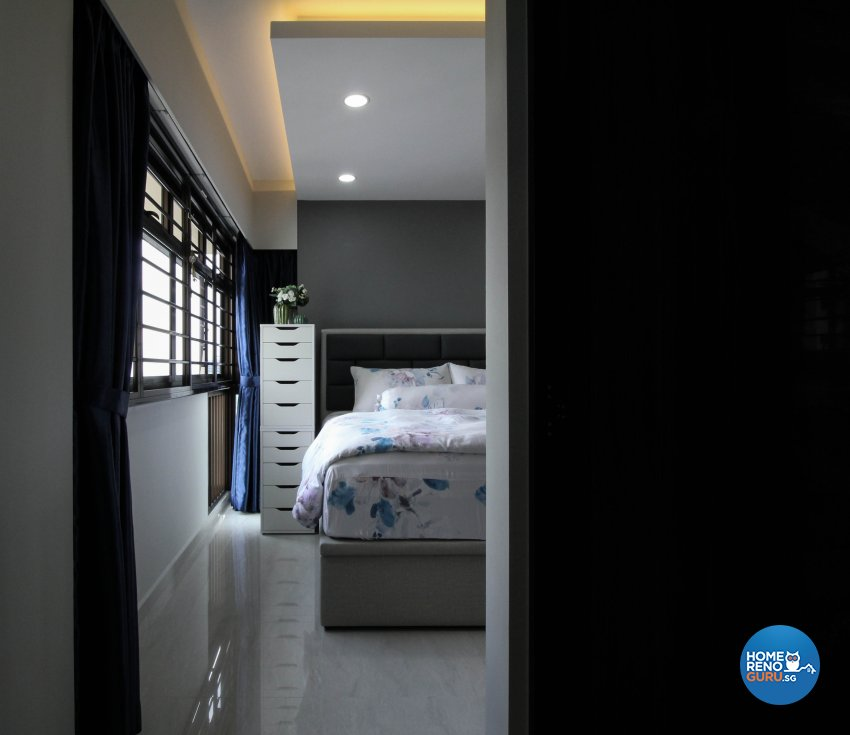 Contemporary, Minimalist, Modern Design - Bedroom - HDB 4 Room - Design by Sense & Semblance Pte Ltd
