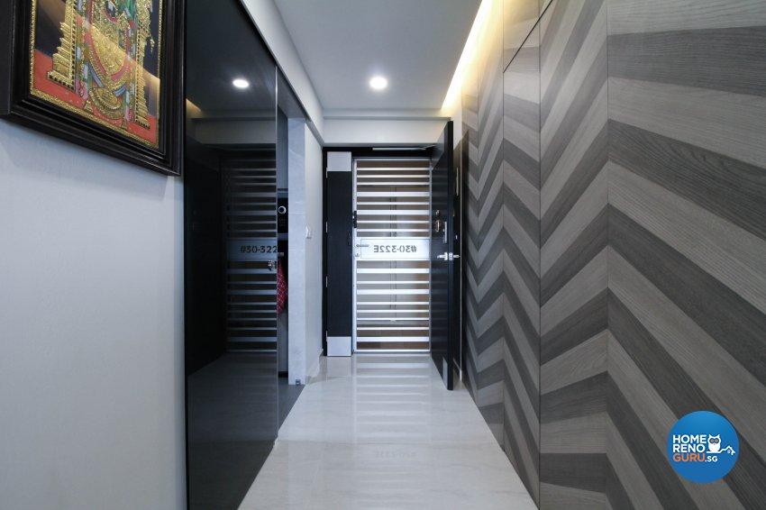 Contemporary, Minimalist, Modern Design - Living Room - HDB 4 Room - Design by Sense & Semblance Pte Ltd