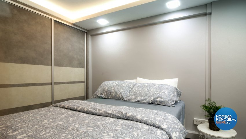 Contemporary, Industrial, Modern Design - Bedroom - HDB 3 Room - Design by Sense & Semblance Pte Ltd