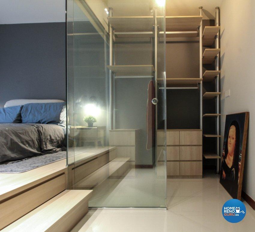 Contemporary Design - Bedroom - HDB 4 Room - Design by Sense & Semblance Pte Ltd
