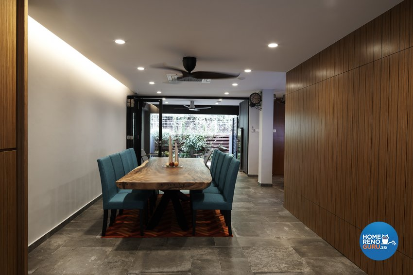 Contemporary, Modern Design - Dining Room - Landed House - Design by Six Dimension Design & Decor Pte Ltd