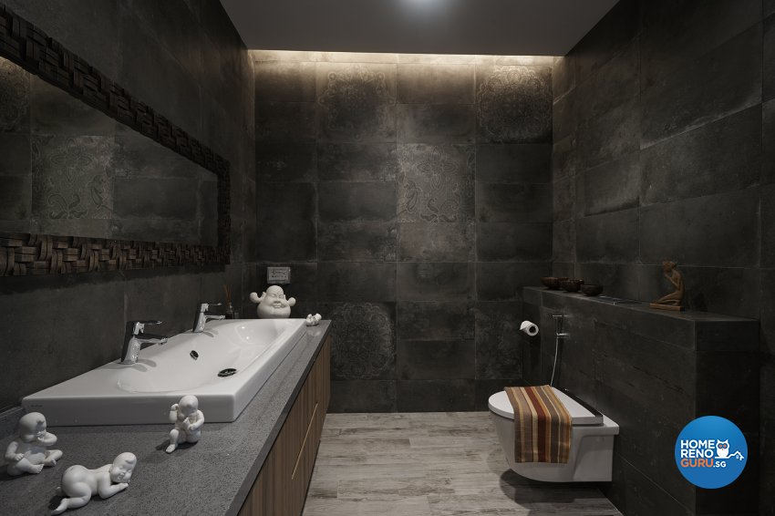 Contemporary, Modern Design - Bathroom - Landed House - Design by Six Dimension Design & Decor Pte Ltd
