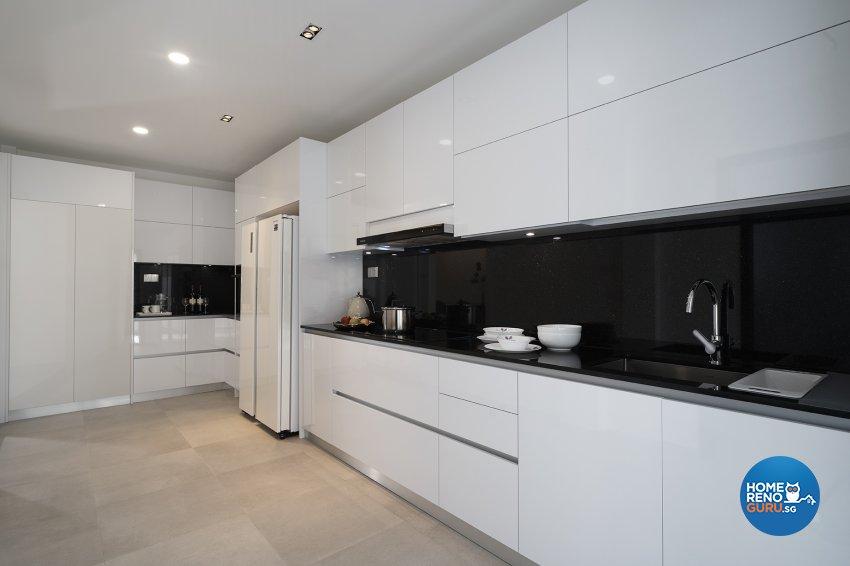 Modern Design - Kitchen - Landed House - Design by Six Dimension Design & Decor Pte Ltd