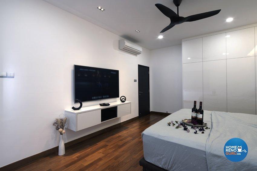 Modern Design - Bedroom - Landed House - Design by Six Dimension Design & Decor Pte Ltd