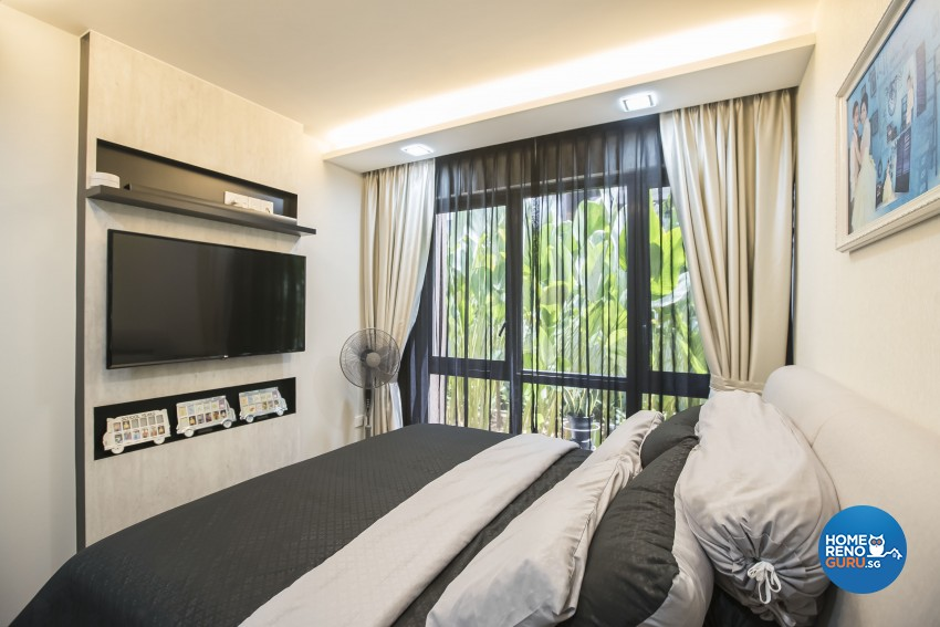 Modern Design - Bedroom - Condominium - Design by Sky Creation
