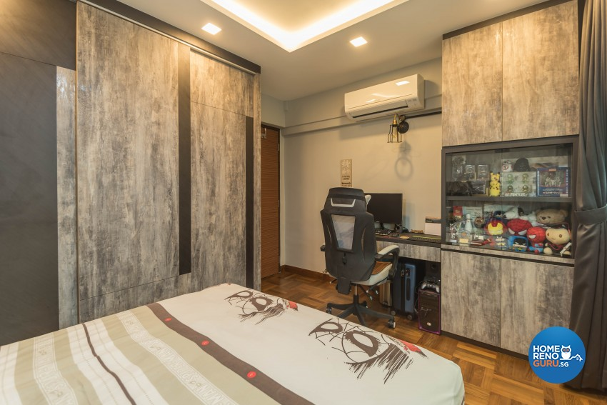 Modern Design - Bedroom - HDB Executive Apartment - Design by Sky Creation