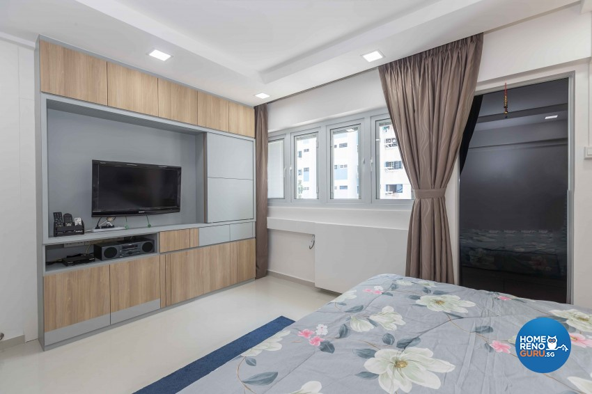 Modern Design - Bedroom - HDB 5 Room - Design by Sky Creation